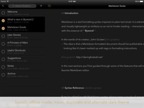 Byword screenshot 8