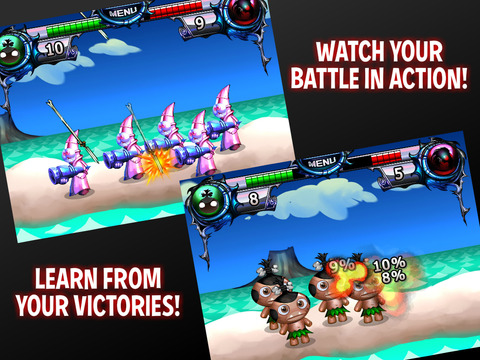Pocket God vs Desert Ashes screenshot 9