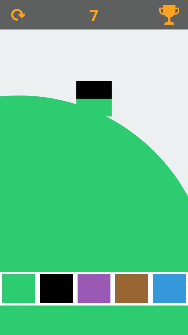 Simply Color Rush screenshot 1