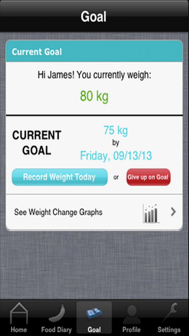 Food Diary - Best Weight Loss Management Tool screenshot 2