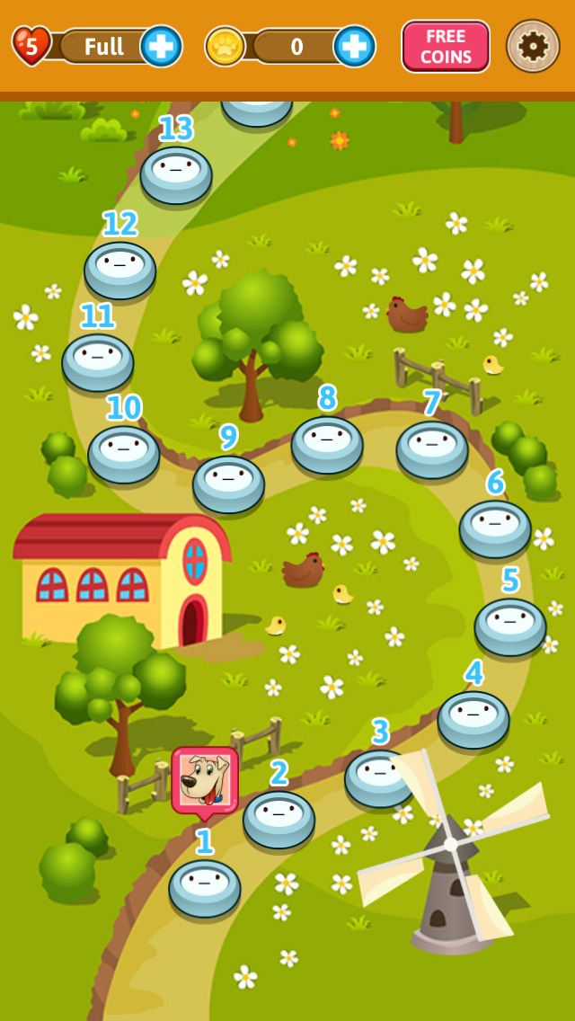 Pet Paradise Story - Match 3 puzzle adventure screenshot 4
