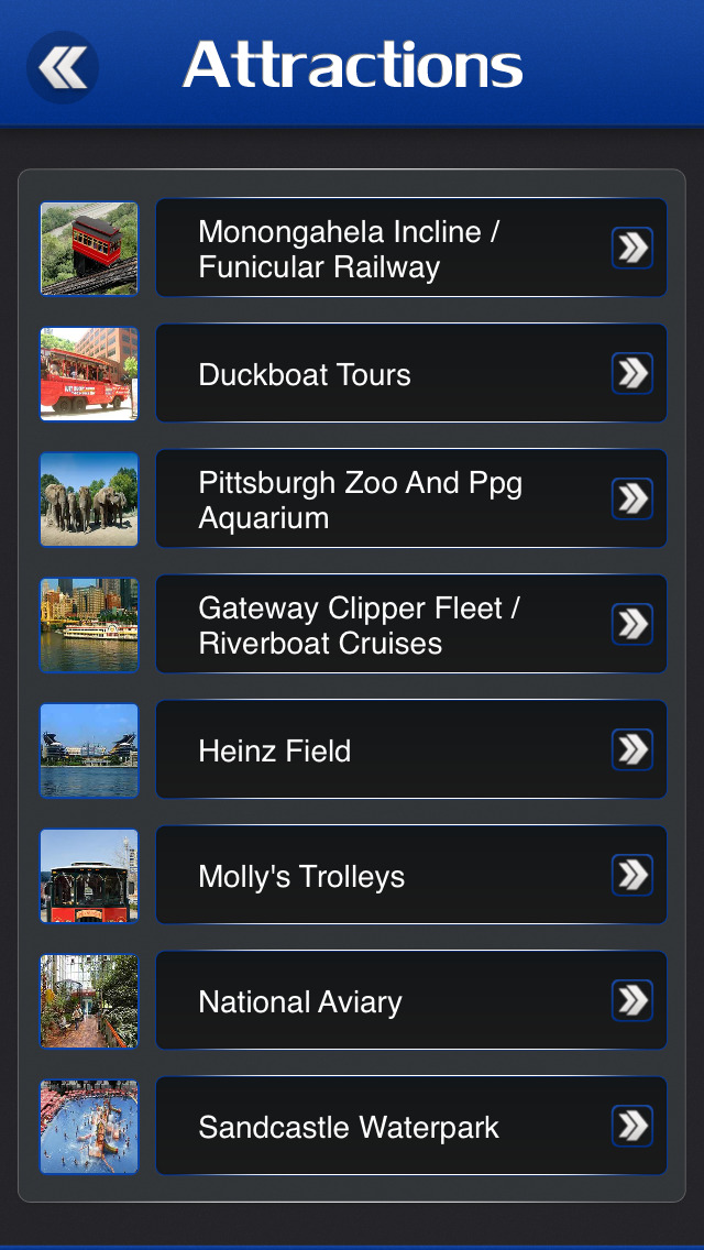 Pittsburgh Offline Travel Guide screenshot 3