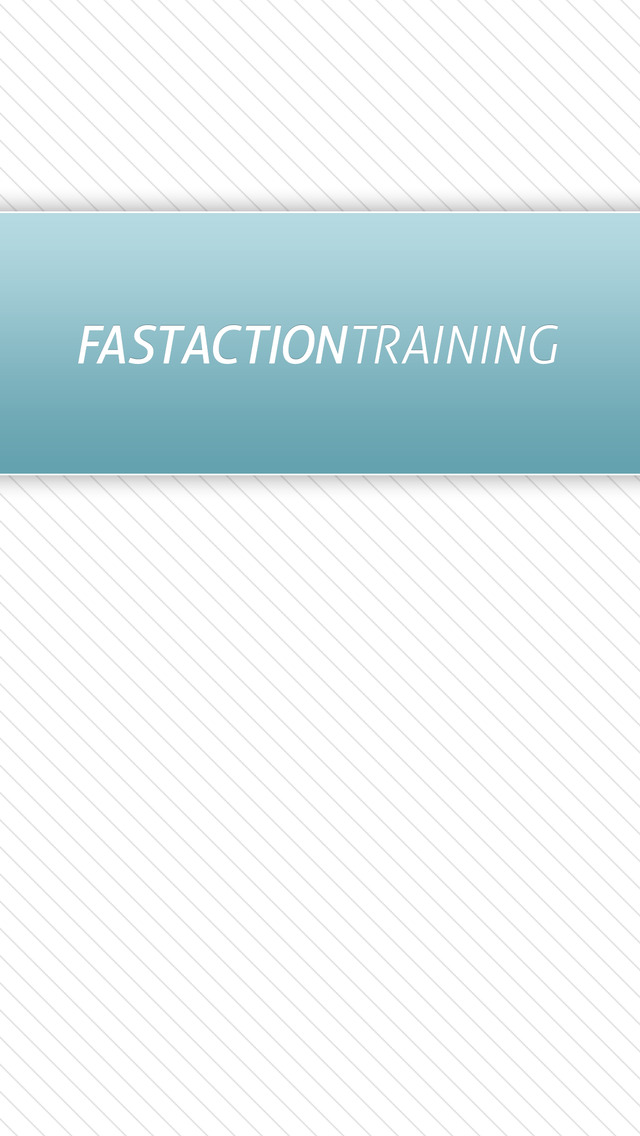 Fast Action Training screenshot #1