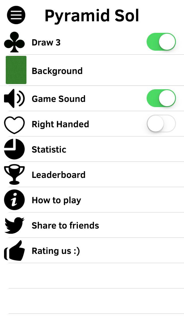 Pyramid Solitaires screenshot 3