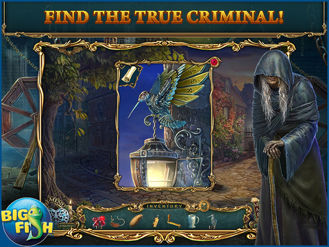 Haunted Legends: The Stone Guest HD - A Hidden Objects Detective Game (Full) screenshot 3