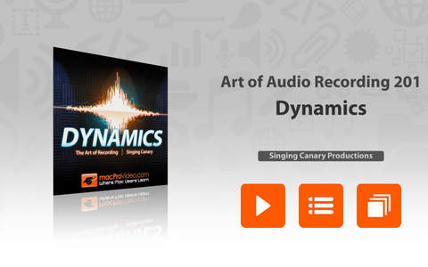 Art of Audio Recording - Dynamics - náhled