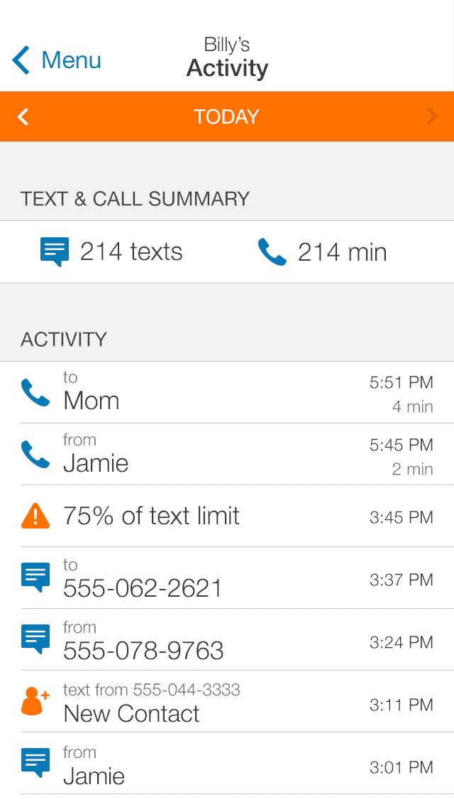 AT&T Smart Limits℠ screenshot 1