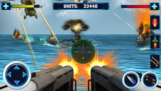 Navy Battleship Attack 3D screenshot 1
