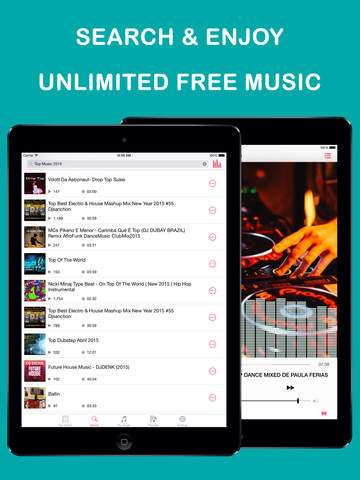 Free Music Stream PRO - Mp3 Player and Playlist Manager screenshot 5