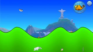 Racing Penguin: Slide and Fly! screenshot 3