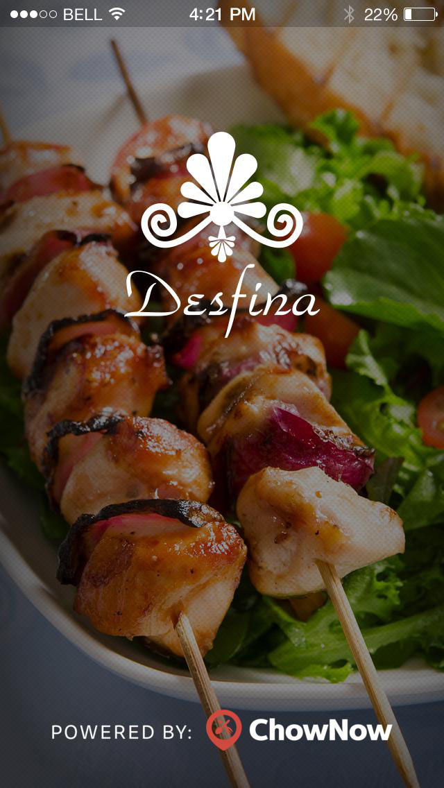 Desfina Restaurant screenshot 1