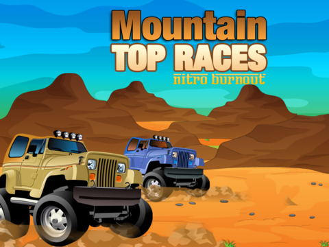 Mountain Top Races Pro - Nitro Burnout screenshot 5