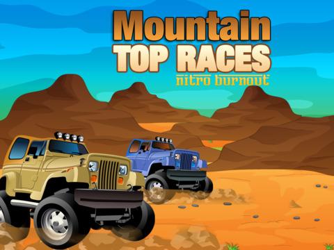 Mountain Top Races Pro - Nitro Burnout screenshot 5