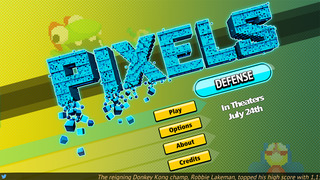 PIXELS Defense screenshot 1