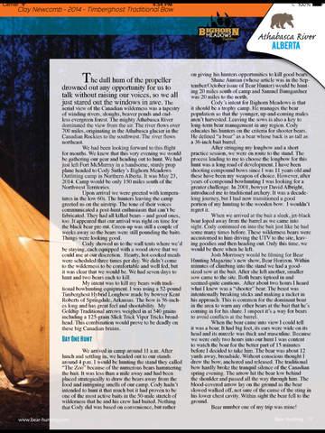 Bear Hunting Magazine screenshot 10