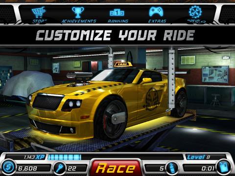 Rogue Racing: PinkSlip screenshot 9
