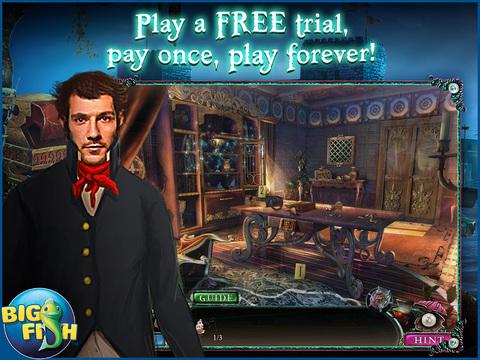 Sea of Lies: Nemesis HD - A Hidden Object Detective Adventure screenshot 1