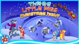 Christmas Night: Three Little Pigs Free Adventure screenshot 1