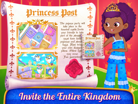 Princess PJ Party screenshot 9