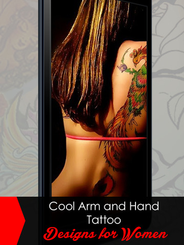 MyTattoo - The Tattoo Designs Salon App & Virtual Photo Booth Machine to Tattooed yourself with Dragon Tribal Tattoos without Pain for free! screenshot 8