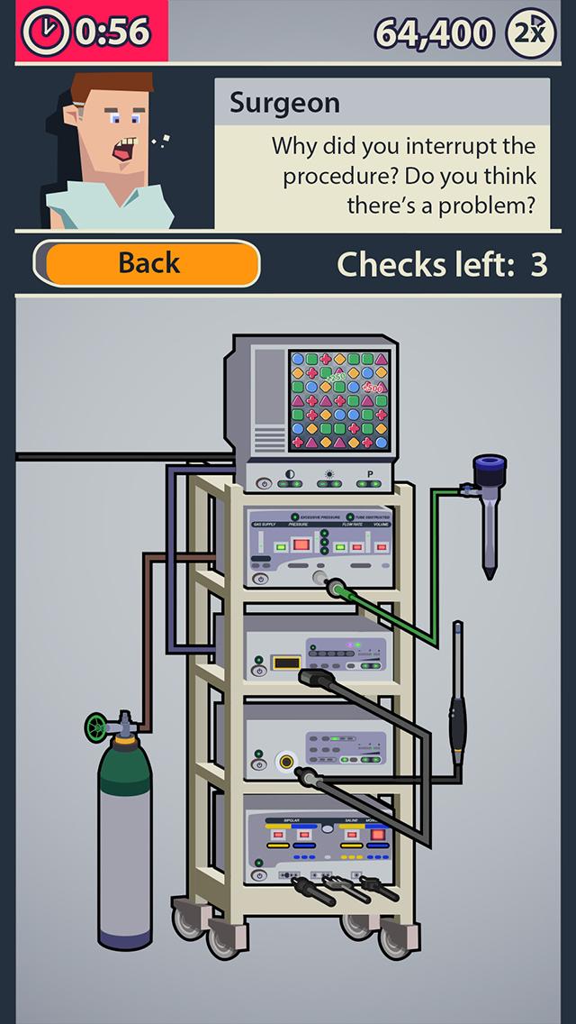 Dr. Game Surgeon Trouble screenshot 1