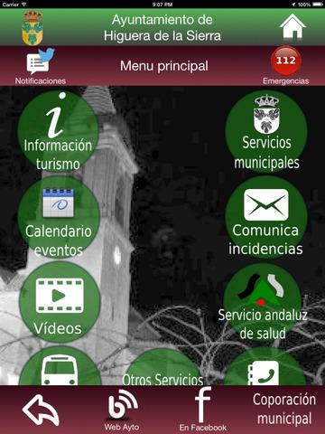Higuera de la Sierra - Servicios e Información screenshot 10