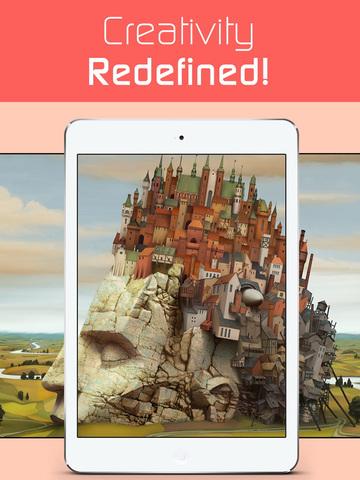 3D Wallpaper themes Sticker HD screenshot 7