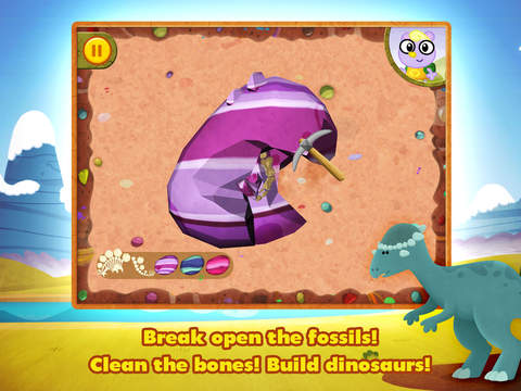 Dino Dog - A Digging Adventure with Dinosaurs! screenshot 8