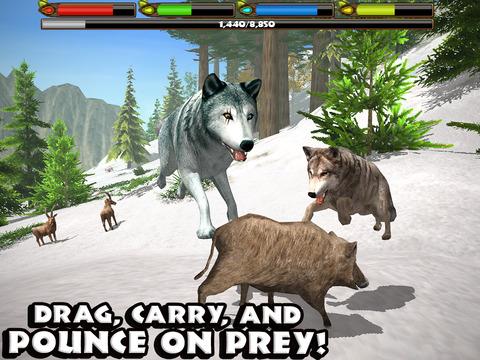 Ultimate Wolf Simulator screenshot 8