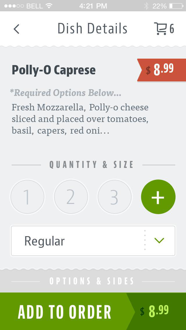 Carolina's Italian Restaurant screenshot 4