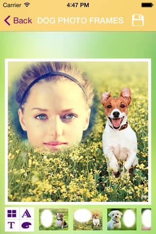 Dog Photo Frames - náhled