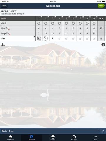 Spring Hollow Golf Club screenshot 8