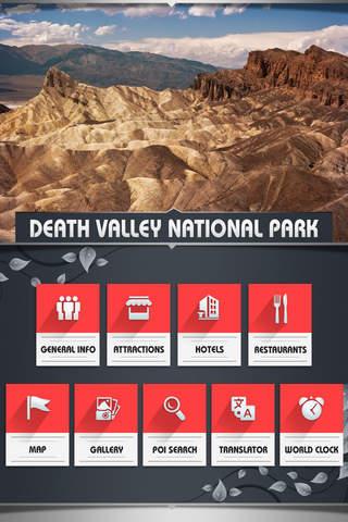 Death Valley National Park Tourism Guide - náhled