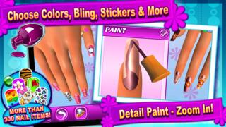Sunnyville Salon Game - Play Free Hair, Nail & Make Up Games screenshot 2