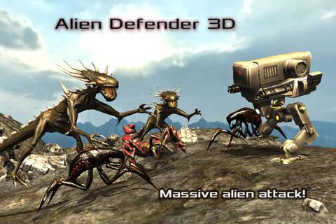 Alien Defender 3D Pro - náhled