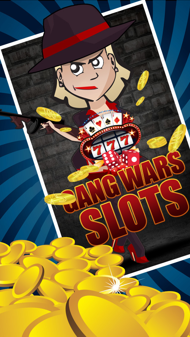 Gangsters Slot Casino Game screenshot 1
