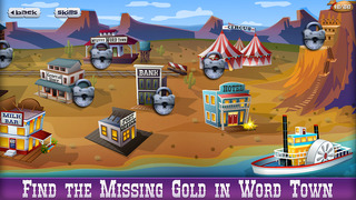 Mystery Word Town Spelling screenshot 1