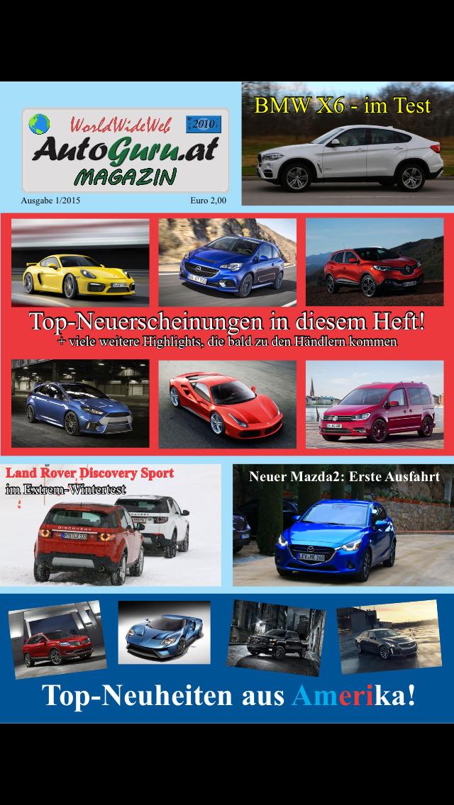 Autoguru.at Magazin screenshot 1
