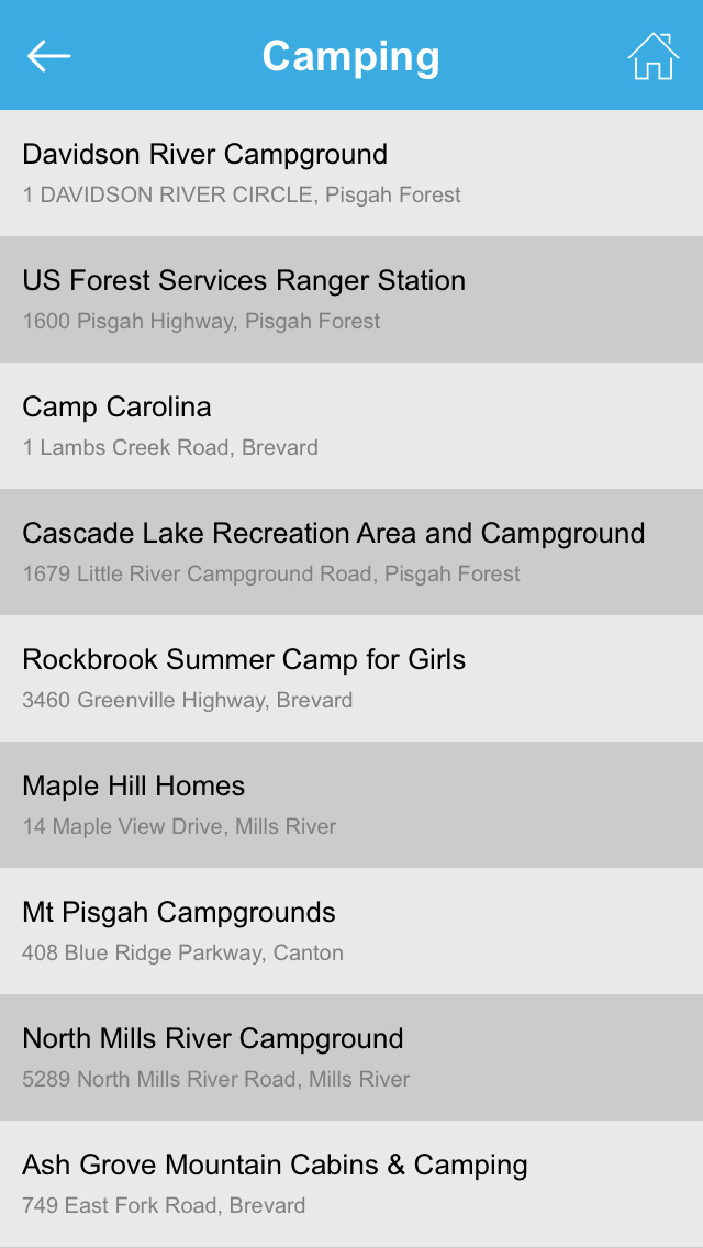 North Carolina National Recreation Trails screenshot 5