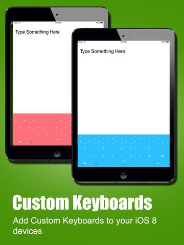 ColorKey - Custom Keyboard Colors for iOS 8 screenshot 5