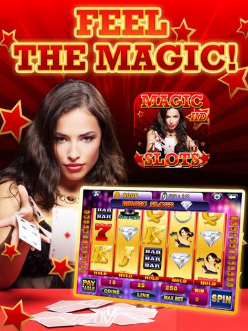 Ace Magic Slots - Jackpot Celebrity Illusion Craft Slot Machine Games HD screenshot 5