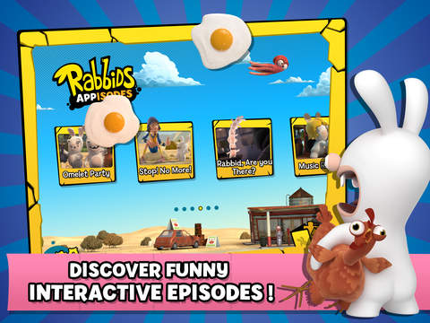 Rabbids Appisodes: The Interactive TV Show screenshot 7
