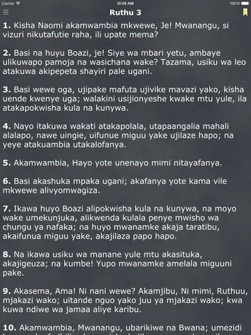Biblia Takatifu Bible In Swahili Daily Reading Ipad Reviews At Ipad Quality Index