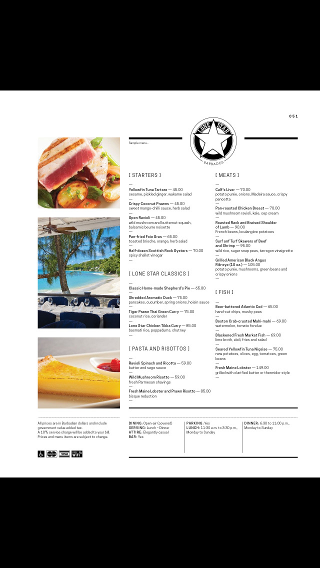 Menu International - Restaurant Guide - Barbados screenshot 5