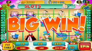 A Lucky Rabbit Slots Game - Vegas Wonderland Casino Games Free screenshot 3