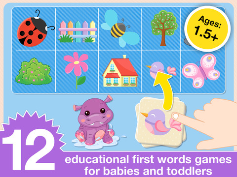 Preschool First Words Baby Toddlers Learning Games screenshot 6