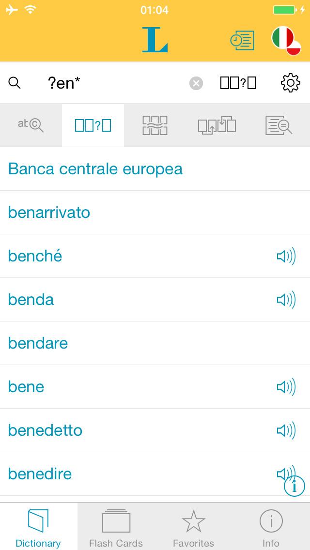 Słownik CLASSIC polsko <-> włoski screenshot 4