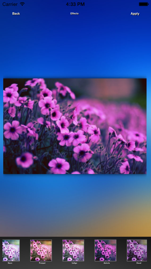 CameraFXHD screenshot 5