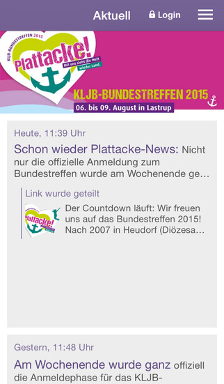 Plattacke - Bundestreffen 2015 screenshot 1