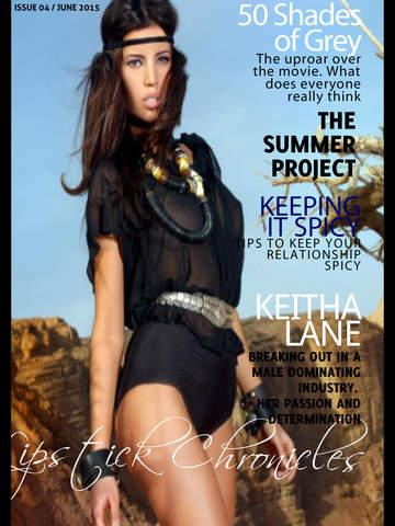 Lipstick Chronicles Magazine screenshot 6